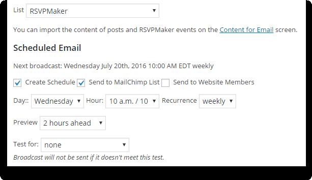 newsletter-settings