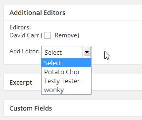 Add Editor/Collaborator